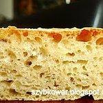 Chleb szybki smaczny małokaloryczny ( drożdże)