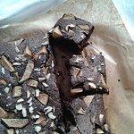 Brownie z gruszką z sadu