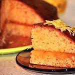 Ciasto mocno waniliowe z wiórkami cytrynowymi