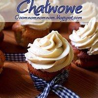 Babeczki chałwowe - chałwowe cupcakes z kremem chałwowym