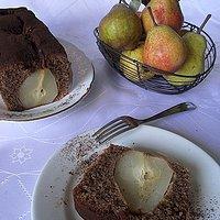 Ciasto z gruszką