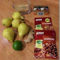 Aromatyczna tarta z gruszkami