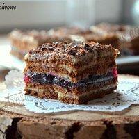 Ciasto chałwowe (bez pieczenia)