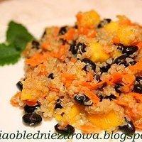 Danie Z Quinoa Czarnej Fasoli I Mango Przepisy Kulinarne Mikser