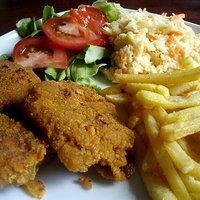 Obiad Jak W Kfc Stripsy Sojowe Z Salatka Coleslaw Przepisy