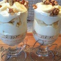 Desery W Pucharkach Z Orzechami Przepisy Kulinarne Mikser Kulinarny