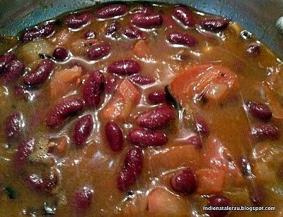 Punjabi Rajma Curry Z Czerwonej Fasoli Przepis Mikser Kulinarny