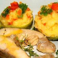 Cukinia I Kabaczek Gotowane Na Parze Przepisy Kulinarne Mikser