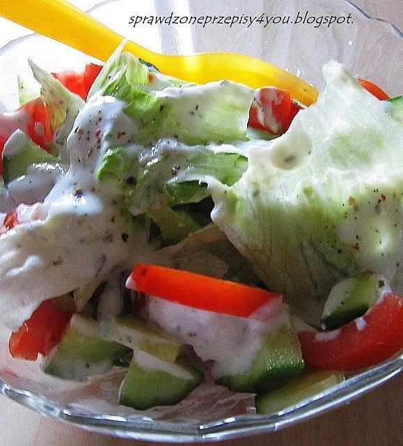 Salata Lodowa Na Obiad Przepis Mikser Kulinarny