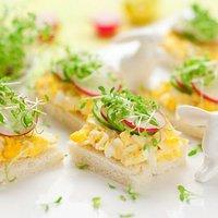 Wielkanocne Kanapki Przepisy Kulinarne Mikser Kulinarny