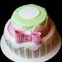 Tort Na Chrzest Dla Dziewczynki Przepisy Kulinarne Mikser Kulinarny