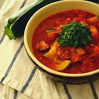 Zupa Leczo Z Cukinii Z Kiełbasą Przepisy Kulinarne