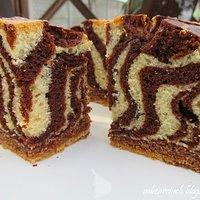 Ciasto Zebra Ciasto Tygrysek Przepisy Kulinarne Mikser Kulinarny