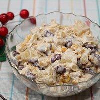 Salatka Z Pora Czerwonej Fasoli I Kukurydzy Przepisy Kulinarne