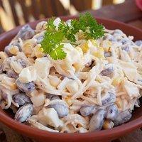 Salatka Z Czerwona Fasola Przepisy Kulinarne Mikser Kulinarny