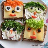 Kanapki Dla Dzieci Przepisy Kulinarne Mikser Kulinarny