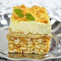 Ciasto Lion Z Herbatnikami Przepisy Kulinarne Mikser Kulinarny