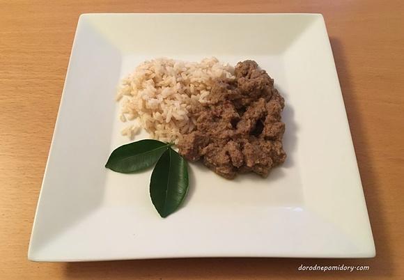 Wołowina Rendang Kuchnia Indonezyjska Przepis Mikser