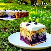 Ciasto Migdalowe Z Jagodami I Bita Smietana Przepisy Kulinarne