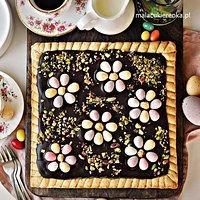 Wielkanocny Mazurek Z Chałwą W Czekoladzie Unikalny Smak